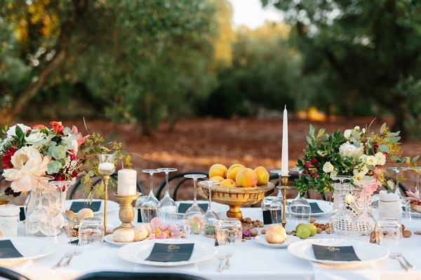 wedding table puglia